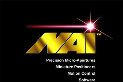 Micro Precision Apertures Miniature Positioners Motion Control Software